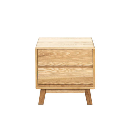 Arco 2 Drawer Bedside
