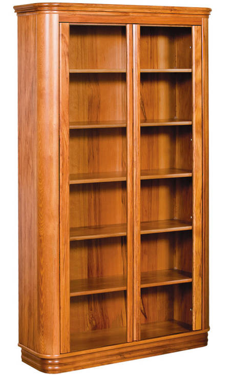 Riviera 1100 x 1900mm Bookcase Glass Doors