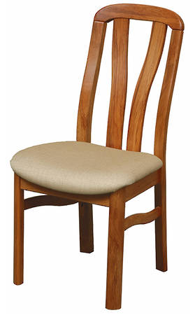 Hansen Slatted Back Chair