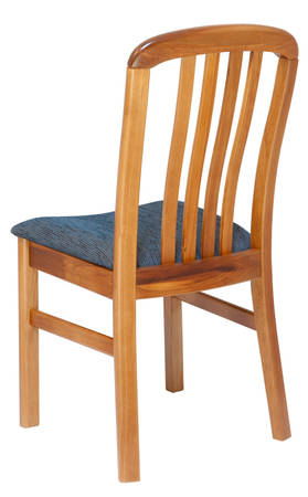 Verso Chair, slatted back