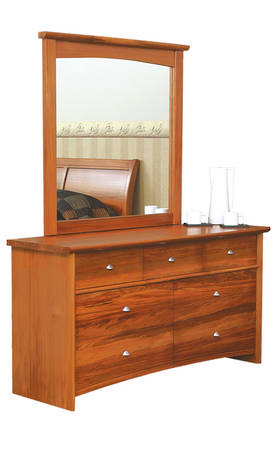 Verso 7 Drawer Dresser & Mirror