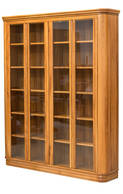Riviera 1600 x 1900mm Bookcase Glass Doors