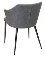 Brooklyn Dining Arm Chair-Raven