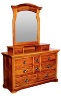 River Crossings 8Drw Dressing Table