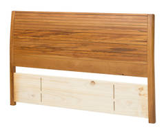 Solaris Queen Timber Slatted Panel Headboard