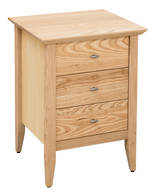 Aria 3 Drawer Narrow Bedside