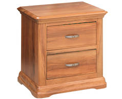 Opera 2 Drawer Bedsider