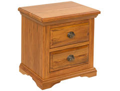 River Crossings 2Drw Bedside Cabinet