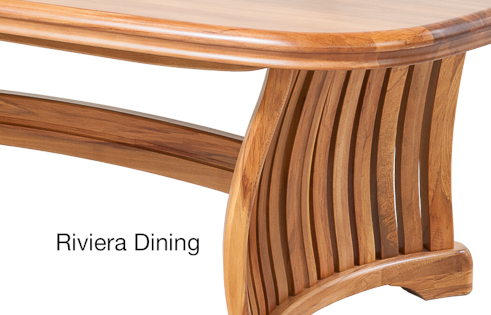 Riviera Dining Detail