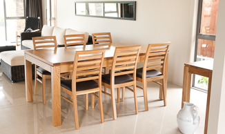 Attra Natural Oak Dining Suite