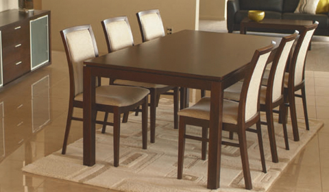 WED 15191 Dark Oak Table