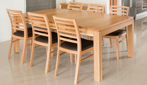 WED 15191 Dark Oak Table