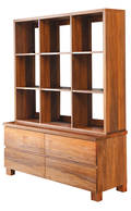 Riverwood 4Drw Display Cabinet