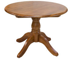 Oslo Round Fixed Dining Table - 1070L x 1070W